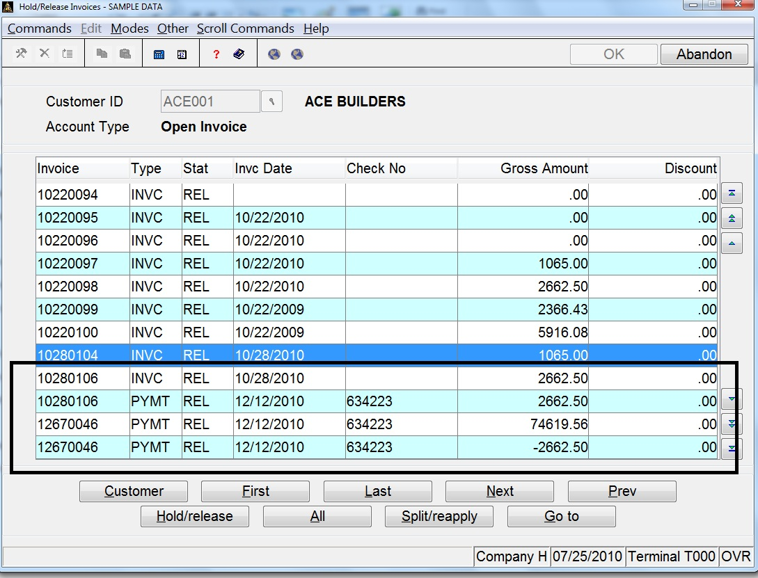 How To Apply Credit Memo And Deposits To Invoices In Open Systems - Open invoice software